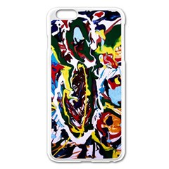 Inposing Butterfly 1 Apple Iphone 6 Plus/6s Plus Enamel White Case