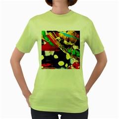 Catalina Island Not So Far 3 Women s Green T Shirt