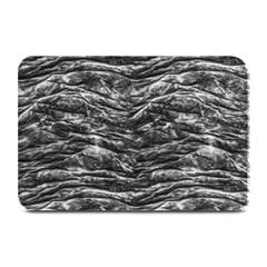 Dark Skin Texture Pattern Plate Mats