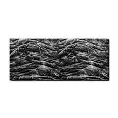 Dark Skin Texture Pattern Cosmetic Storage Cases by dflcprints