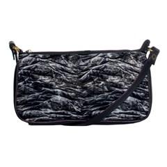 Dark Skin Texture Pattern Shoulder Clutch Bags