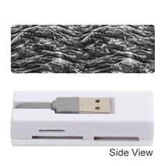 Dark Skin Texture Pattern Memory Card Reader (Stick)
