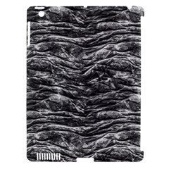 Dark Skin Texture Pattern Apple iPad 3/4 Hardshell Case (Compatible with Smart Cover)