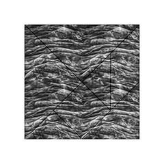 Dark Skin Texture Pattern Acrylic Tangram Puzzle (4  x 4 )