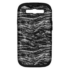 Dark Skin Texture Pattern Samsung Galaxy S III Hardshell Case (PC+Silicone)