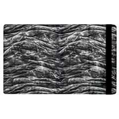 Dark Skin Texture Pattern Apple iPad 2 Flip Case