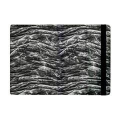 Dark Skin Texture Pattern Apple iPad Mini Flip Case