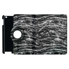 Dark Skin Texture Pattern Apple iPad 3/4 Flip 360 Case