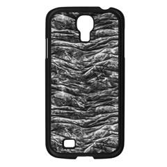 Dark Skin Texture Pattern Samsung Galaxy S4 I9500/ I9505 Case (Black)