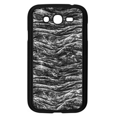 Dark Skin Texture Pattern Samsung Galaxy Grand Duos I9082 Case (black)