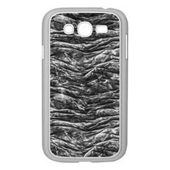 Dark Skin Texture Pattern Samsung Galaxy Grand DUOS I9082 Case (White)