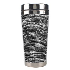 Dark Skin Texture Pattern Stainless Steel Travel Tumblers