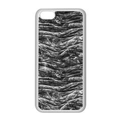 Dark Skin Texture Pattern Apple iPhone 5C Seamless Case (White)