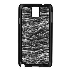 Dark Skin Texture Pattern Samsung Galaxy Note 3 N9005 Case (black)