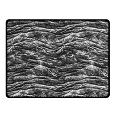 Dark Skin Texture Pattern Double Sided Fleece Blanket (small)
