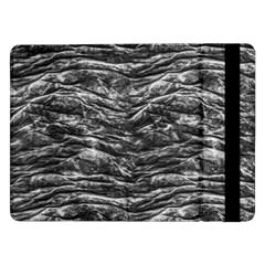 Dark Skin Texture Pattern Samsung Galaxy Tab Pro 12.2  Flip Case