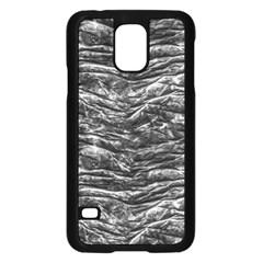 Dark Skin Texture Pattern Samsung Galaxy S5 Case (Black)