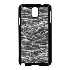 Dark Skin Texture Pattern Samsung Galaxy Note 3 Neo Hardshell Case (Black)