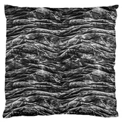Dark Skin Texture Pattern Large Flano Cushion Case (Two Sides)