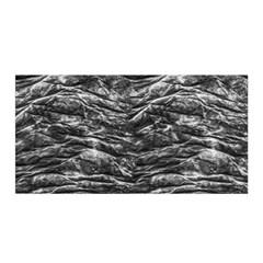 Dark Skin Texture Pattern Satin Wrap