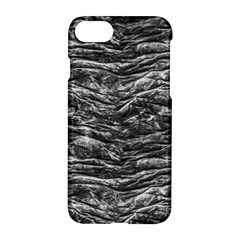 Dark Skin Texture Pattern Apple Iphone 7 Hardshell Case by dflcprints