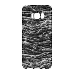 Dark Skin Texture Pattern Samsung Galaxy S8 Hardshell Case