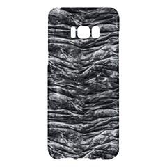 Dark Skin Texture Pattern Samsung Galaxy S8 Plus Hardshell Case