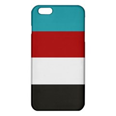 Dark Turquoise Deep Red Gray Elegant Striped Pattern Iphone 6 Plus/6s Plus Tpu Case