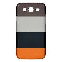 Orange Sand Charcoal Stripes Pattern Striped Elegant Samsung Galaxy Mega 5 8 I9152 Hardshell Case