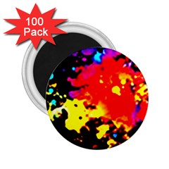 Colorfulpaintsptter 2 25  Magnets (100 Pack)