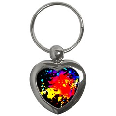 Colorfulpaintsptter Key Chains (heart)