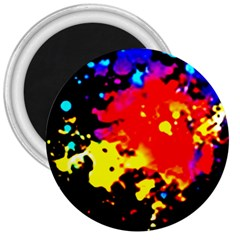 Colorfulpaintsptter 3  Magnets by flipstylezdes