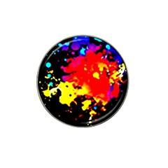 Colorfulpaintsptter Hat Clip Ball Marker
