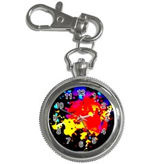Colorfulpaintsptter Key Chain Watches