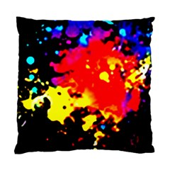 Colorfulpaintsptter Standard Cushion Case (two Sides)