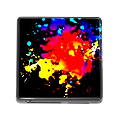 Colorfulpaintsptter Memory Card Reader (square) by flipstylezdes