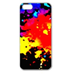 Colorfulpaintsptter Apple Seamless Iphone 5 Case (clear)