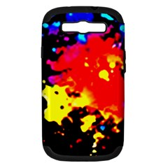 Colorfulpaintsptter Samsung Galaxy S Iii Hardshell Case (pc+silicone)
