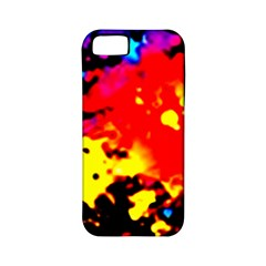 Colorfulpaintsptter Apple Iphone 5 Classic Hardshell Case (pc+silicone)