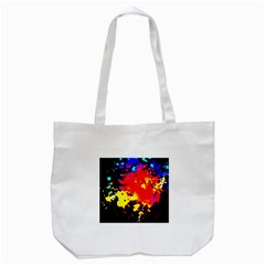 Colorfulpaintsptter Tote Bag (white)