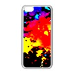Colorfulpaintsptter Apple iPhone 5C Seamless Case (White)