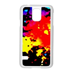 Colorfulpaintsptter Samsung Galaxy S5 Case (white)