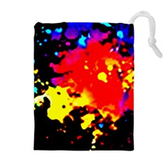 Colorfulpaintsptter Drawstring Pouches (extra Large)