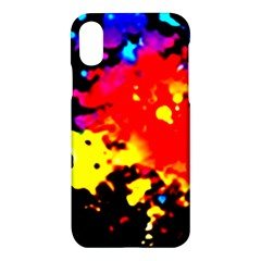 Colorfulpaintsptter Apple Iphone X Hardshell Case