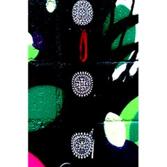Graffiti On Green And Pink Designs 5 5  X 8 5  Notebooks by flipstylezdes