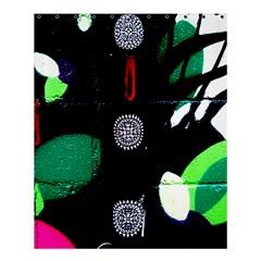 Graffiti On Green And Pink Designs Shower Curtain 60  X 72  (medium)