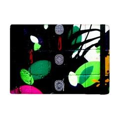 Graffiti On Green And Pink Designs Apple Ipad Mini Flip Case