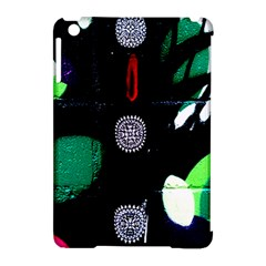 Graffiti On Green And Pink Designs Apple Ipad Mini Hardshell Case (compatible With Smart Cover)