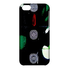 Graffiti On Green And Pink Designs Apple Iphone 5c Hardshell Case