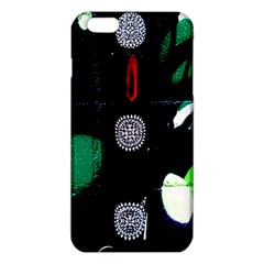 Graffiti On Green And Pink Designs Iphone 6 Plus/6s Plus Tpu Case